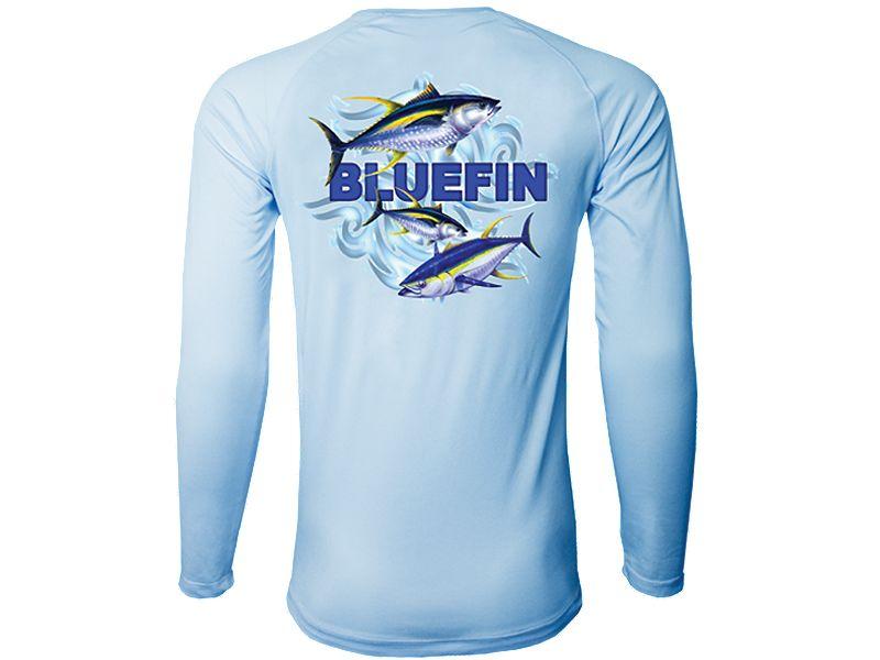 Bluefin Second Skin 3 Tunas Rashguard