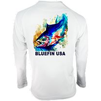 Bluefin Bluetex Waterfx Pop Tuna Long Sleeve Shirt