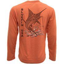 Bluefin Zen Marlin Technical Long Sleeve Shirt
