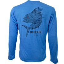 Bluefin Zen Rooster Technical Long Sleeve Shirt