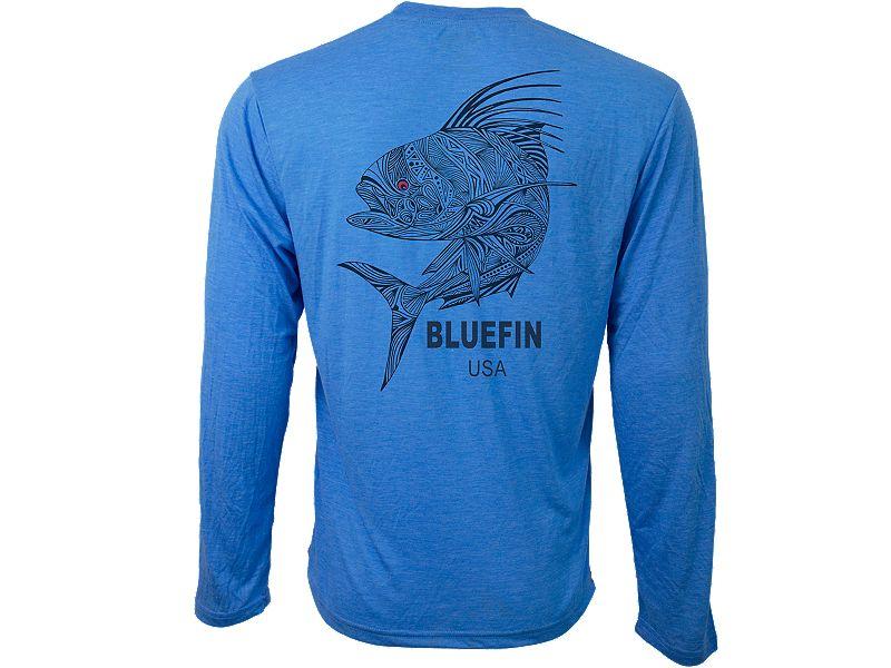 Bluefin Zen Rooster Technical Long Sleeve Shirt