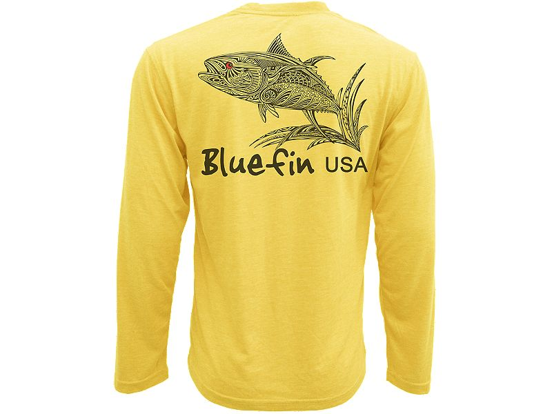 Bluefin Zen Yellowfin Technical Long Sleeve Shirt