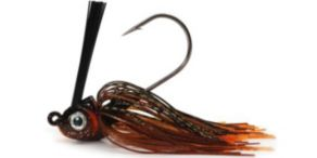 Phenix Tackle Company Vengeance Weedless Kelp Jigs - Rootbeer Calico