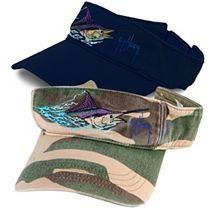 Guy Harvey Marlin Head Visor