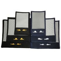 Nantucket Bound Custom Embroidered Non-Skid Interior Mats