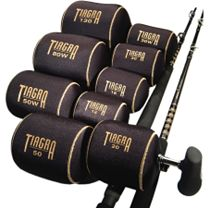 Shimano Tiagra Reel Covers - Black