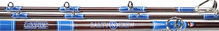 Seeker Super Seeker Salty Crew Rods