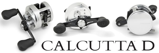 Shimano Calcutta D Series Baitcast Reels - Shown: CT200D