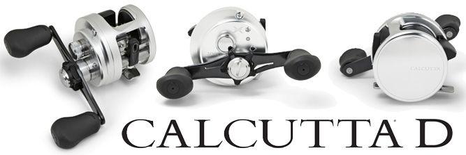 Shimano Calcutta D Series Baitcast Reels - Shown: CT200D