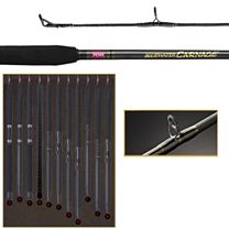 Penn Bluewater Carnage CARBW700XL Conventional Rod