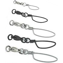 Melton Tackle Double Welded Eye Ball Bearing Snap Swivels