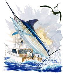 Guy Harvey Blue Marlin
