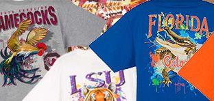 Guy Harvey Collegiate T-Shirts