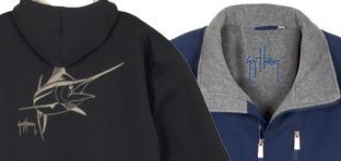 Guy Harvey Men's Jackets & Sweatshirts