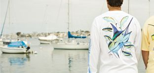 Guy Harvey Men's Long Sleeve Tees