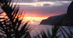 Madeira at sundown