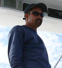 Capt. Kevin Nakamaru of the Northern Lights in Kona, Hawaii