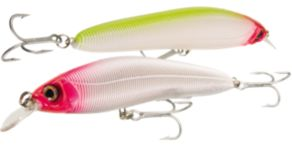 Yo-Zuri Sashimi Minnow - 9 - Luminous Clown