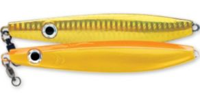 Williamson Vortex Speed Jigs - Florescent Orange/Gold