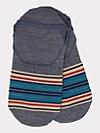 Serape Stripe Moc Socks