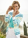 Summer Stripe Cardigan