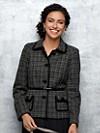 Trina Trimmed Tweed Jacket