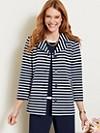 Stripe Knit Jacket