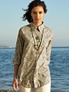 Pocket Change Paisley Tunic