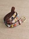 Hand-beaded Shell Belt