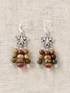 Red Creek Jasper Dangle Earrings