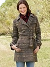 Tucson Jacquard Trench Coat