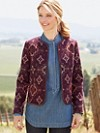 Jacquard City Slicker Jacket