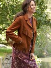 Dale Fringed Suede Jacket