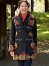 Jacquard Tillamook Toggle Coat