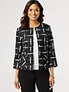 Silk Go Graphic Jacket