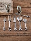 Hand-twisted Taos 5-piece Flatware Set