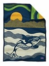 Sea Wolf Crib Blanket