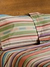 Agave Stripe Flannel Sheet Set