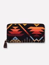 Coyote Butte Zipper Wallet