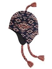 Knit Jacquard Tassel Cap