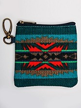 Lahaina Wave Canvas Coin Pouch