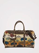 Land Of The Buffalo Getaway Bag