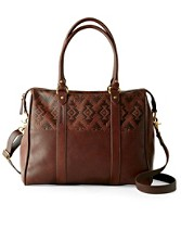 Leather Commuter Tote