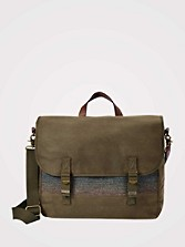 Camp Stripe Messenger Bag