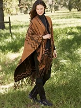 Skywalkers Knit Blanket Shawl