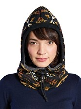 Diamond River Knit Hood