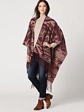 Woven Blanket Shawl