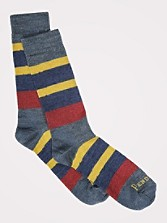 Camp Stripe Crew Socks
