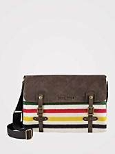Glacier Park Stripe Messenger Bag