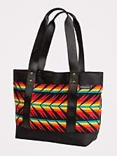 Arrow Path Snap Tote
